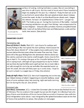 Page 3 - Fishing Report | 3-13-19